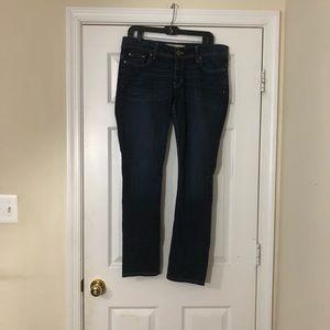 BKE Payton women's blue denim skinny jeans sz 31R